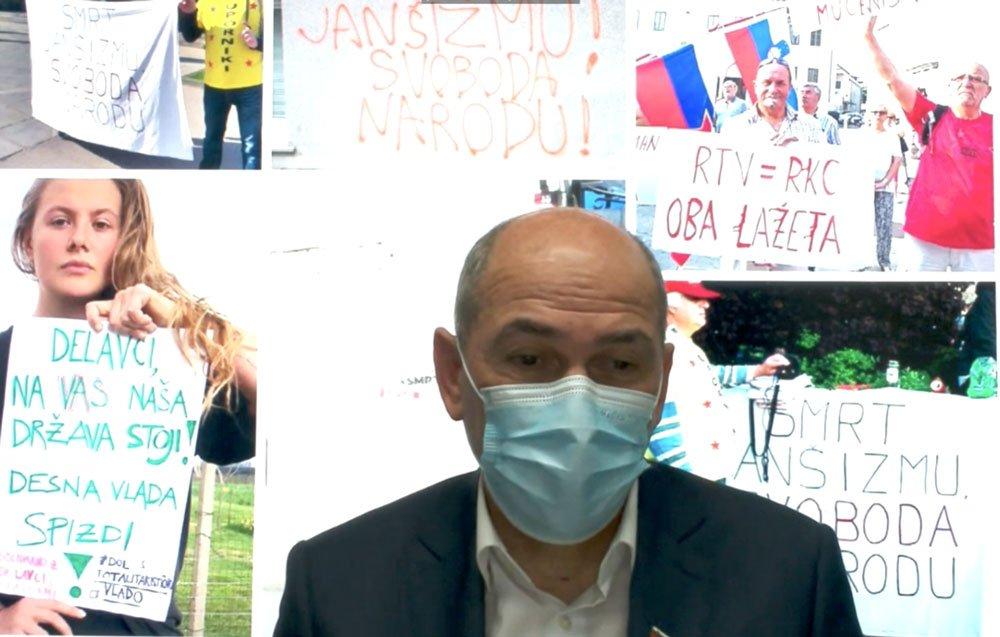 CIVICUS warns of Janša's pressure on civil society, media
