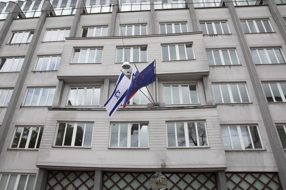 Govt flies Israeli flag in solidarity with Israel